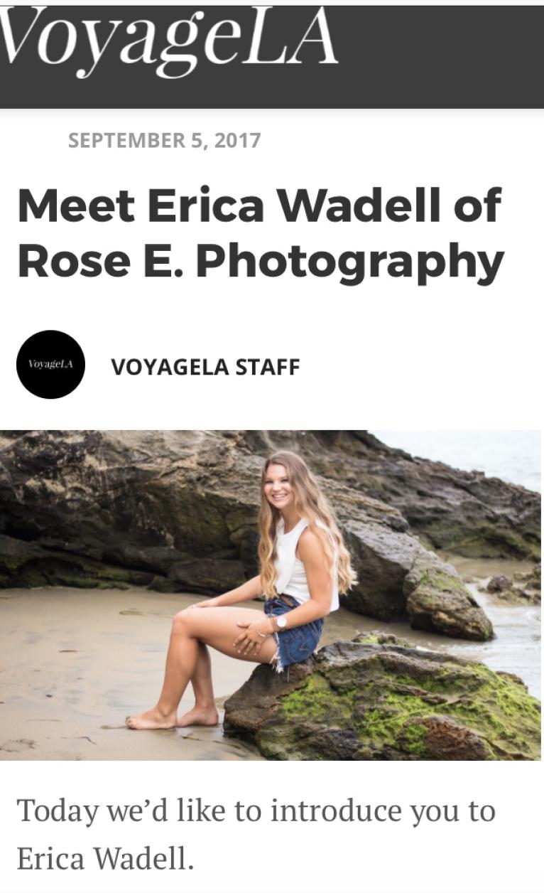 Freelance Photographer Orange County